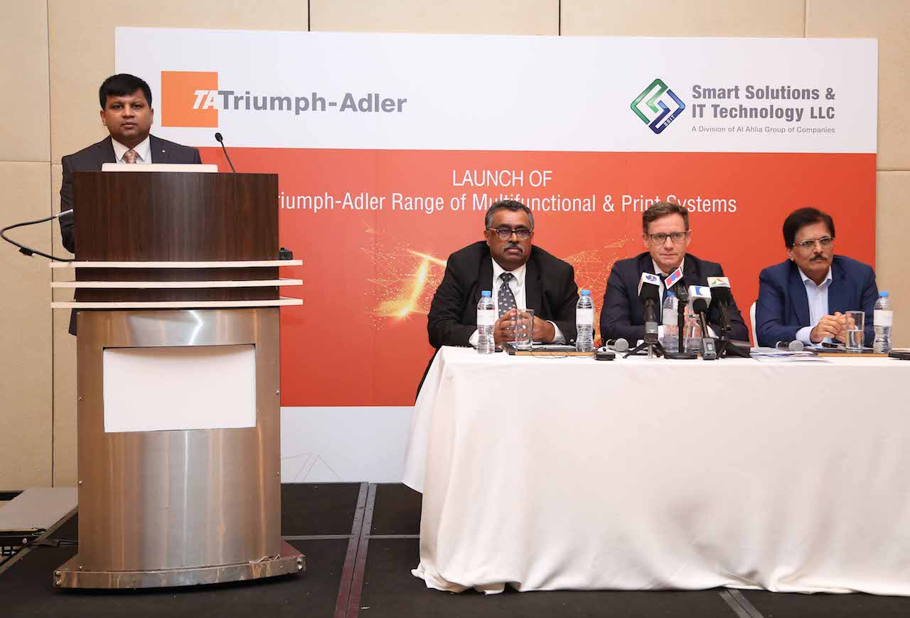 Germany\'s TA Triumph-Adler Launches in UAE – ME Printer – The ...