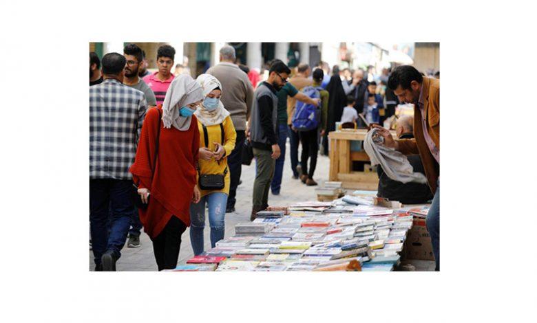 Booksellers in Al-Mutanabbi Street