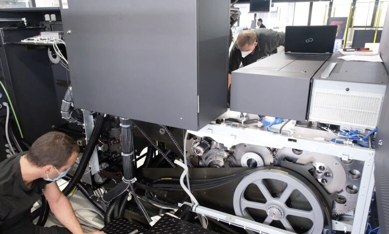 Fujifilm-Jet Press 750S High Speed Model