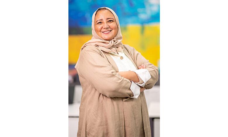 Sozan Abdullah Akeel- entrepreneur and founder of Net-A-Print in the Riyadh Digital City
